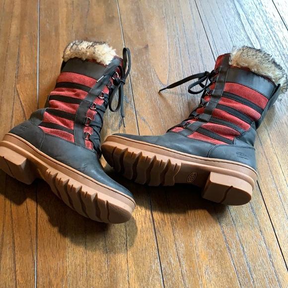 KEEN Wapato Tall Faux Fur Waterproof Boot